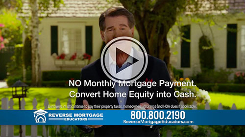 Pro Baseball Legend, Steve Garvey says: only the pros at Reverse Mortgage Educators have the Home Field Advantage Program. The program looks at key indicators that not only tell you if a reverse mortgage is right for you, but when a reverse mortgage is right for you.